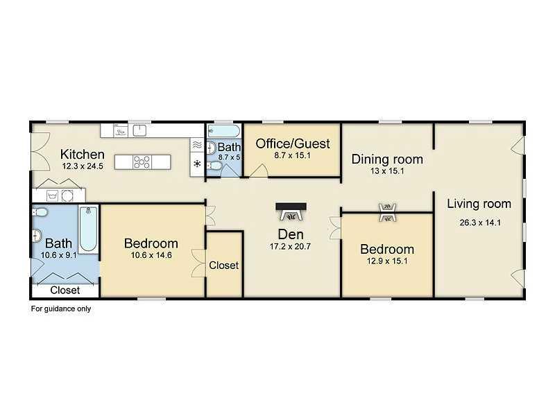 Shotgun floorplans nola kim for Small shotgun house plans