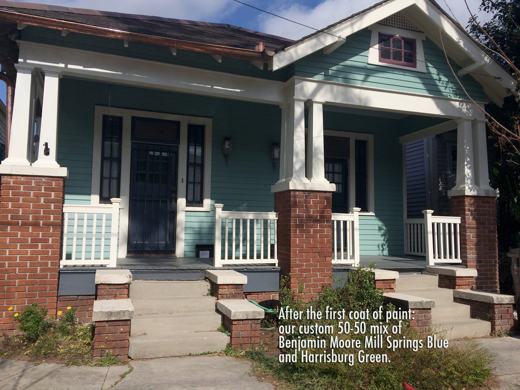The Reveal Exterior Paint Job Nola Kim
